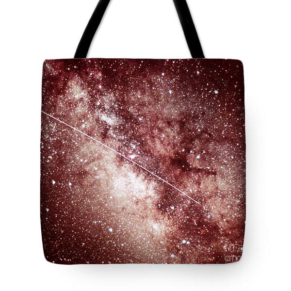 Milky Way In Sagittarius Tote Bag by Science Source