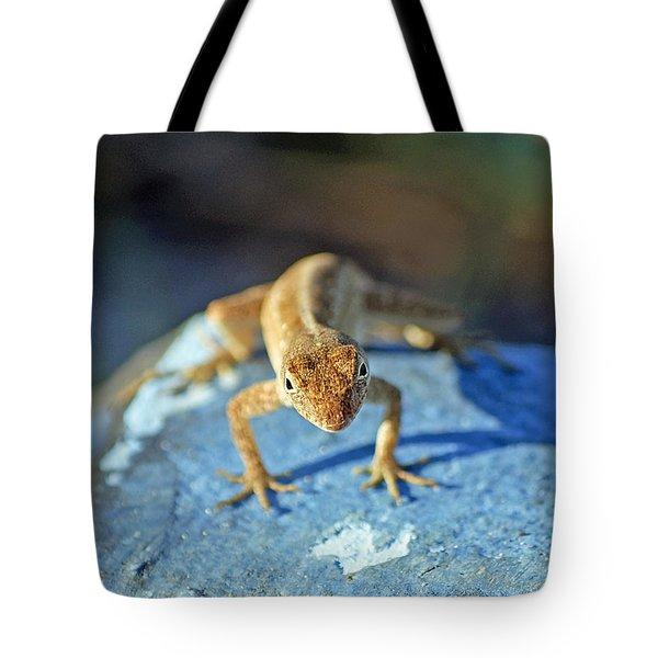 Mini Attitude Tote Bag by Kenneth Albin