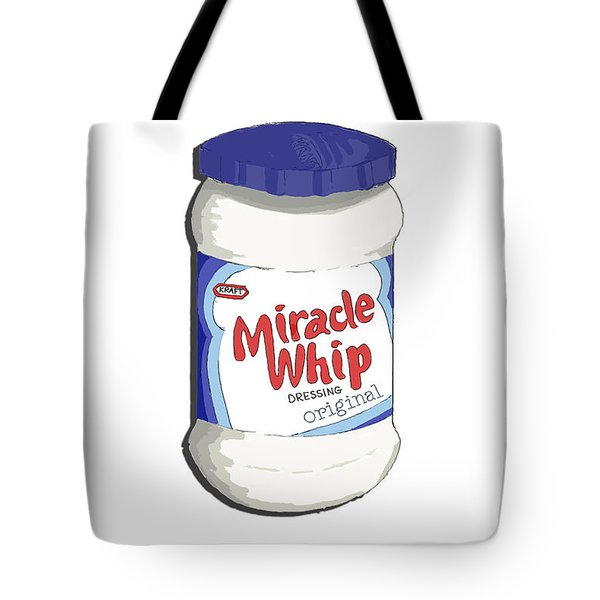 Miracle Whip Tote Bag by George Pedro