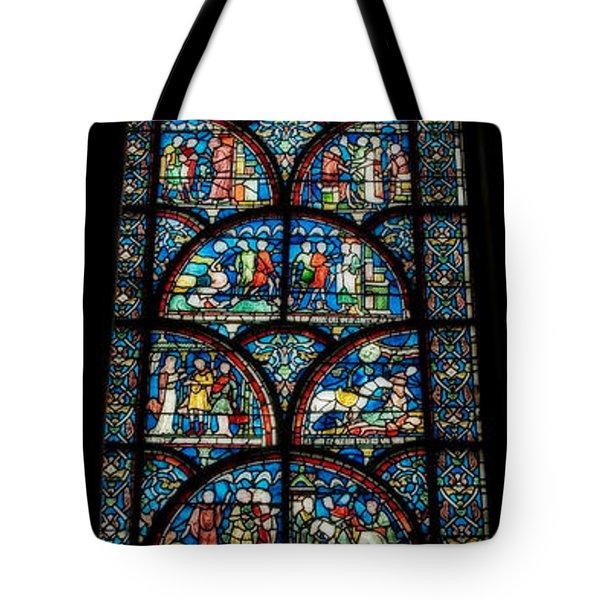 Miracles Of Thomas Becket Tote Bag by Lisa Knechtel