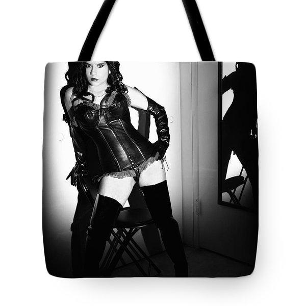 Mirror Matter Fetish Tote Bag by Lon Casler Bixby
