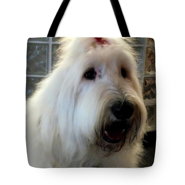 Miss Daisy May Tote Bag by Karen Wiles