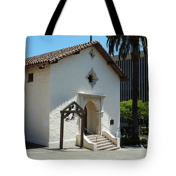 Mission San Rafael Arcangel Chapel Tote Bag by Methune Hively