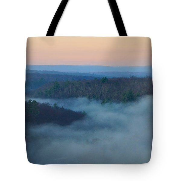 Misty Mountain Hop Tote Bag by Bill Cannon