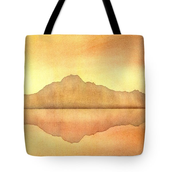 Misty Sunset Tote Bag by Hakon Soreide