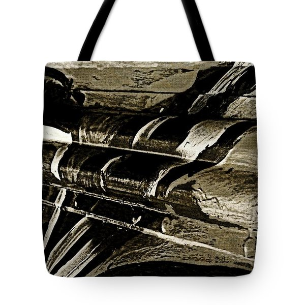 Mobile Graffiti  Tote Bag by Chris Berry
