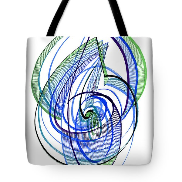 Modern Drawing 120 Tote Bag by Lynne Taetzsch
