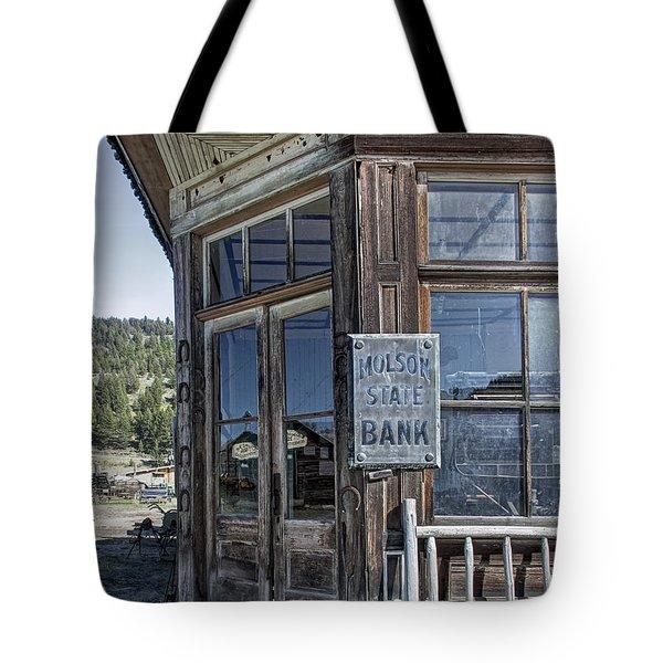 Molson Washington Ghost Town Bank Tote Bag by Daniel Hagerman