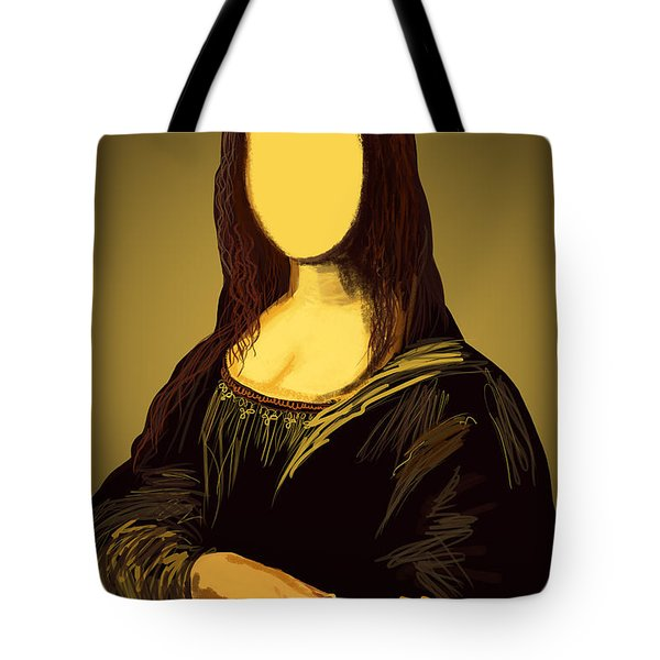 Mona Lisa Tote Bag by Setsiri Silapasuwanchai