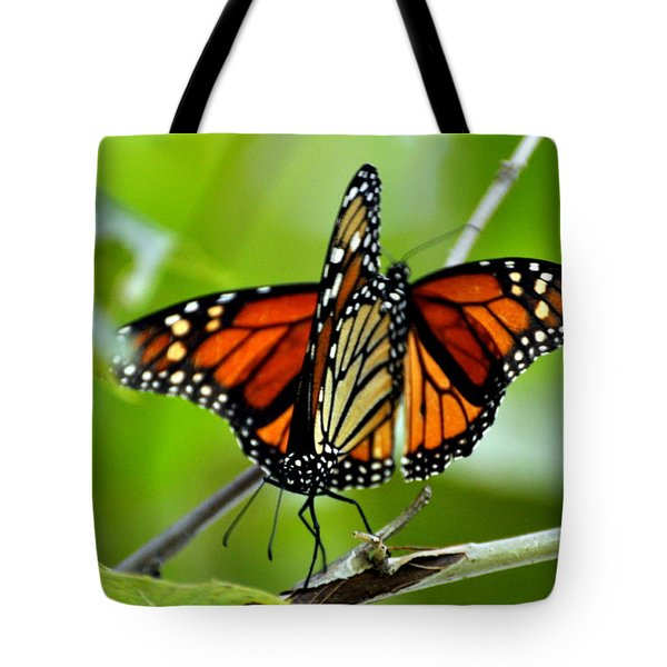 Monarchs Deluxe Tote Bag by Marty Koch