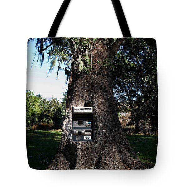 Money Tree . 7d9817 Tote Bag by Wingsdomain Art and Photography