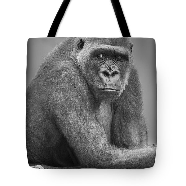 Monkey Tote Bag by Darren Greenwood