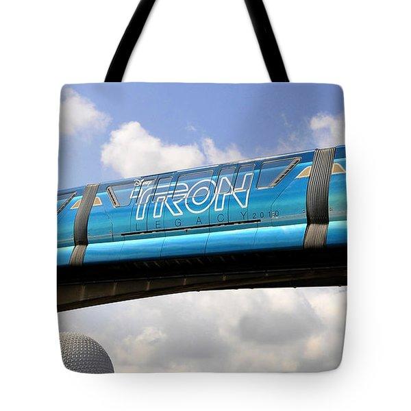 Mono Tron Tote Bag by David Lee Thompson