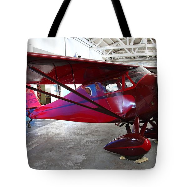 Monocoupe 110 . 7D11144 Tote Bag by Wingsdomain Art and Photography