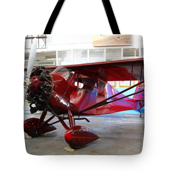 Monocoupe 110 . 7D11149 Tote Bag by Wingsdomain Art and Photography