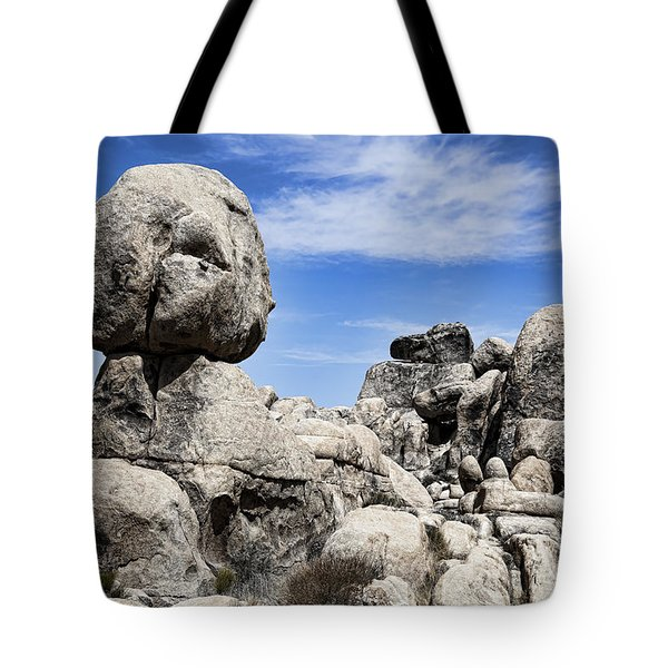 Monolithic Stone Tote Bag by Kelley King
