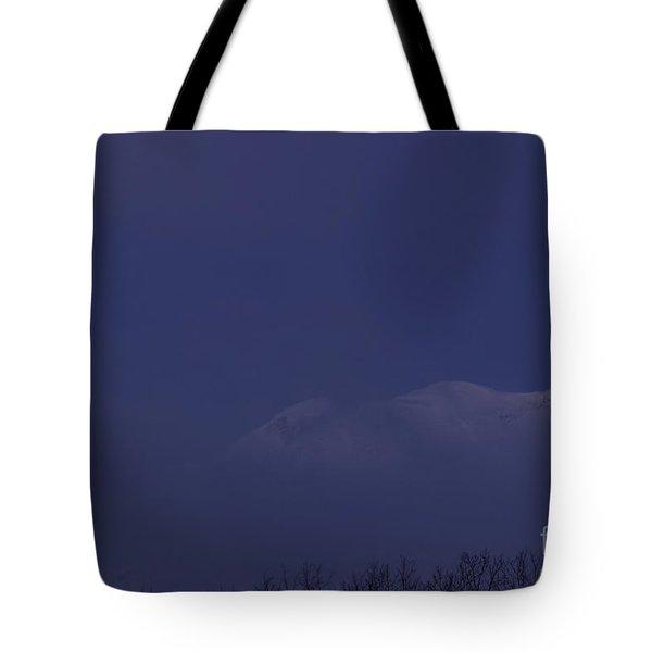 Moon At Dawn Tote Bag by Yuichi Takasaka