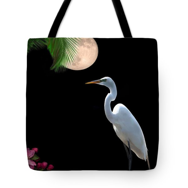 Moon Over Florida Tote Bag by Betty LaRue