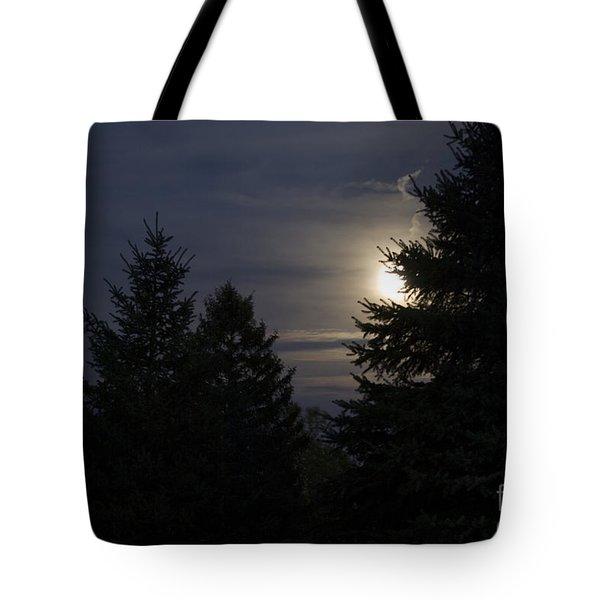 Moon Rising 01 Tote Bag by Thomas Woolworth