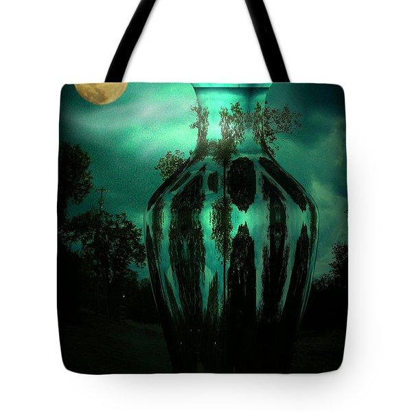Moonglow Tote Bag by Joyce Dickens