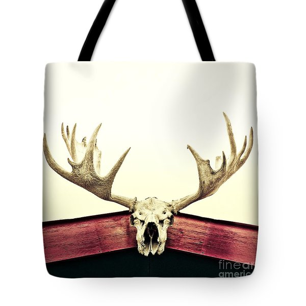 Moose Trophy Tote Bag by Priska Wettstein