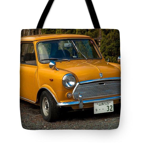 Moris Mini Cooper Tote Bag by Sebastian Musial