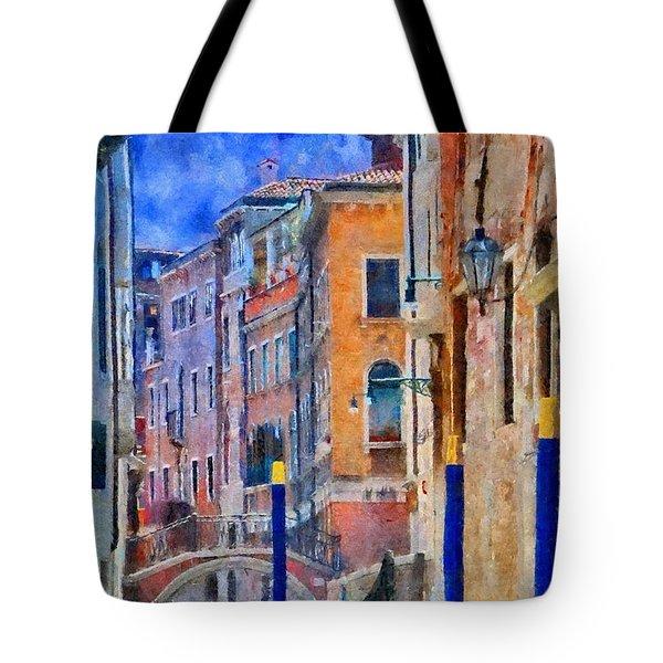 Morning Calm In Venice Tote Bag by Jeff Kolker