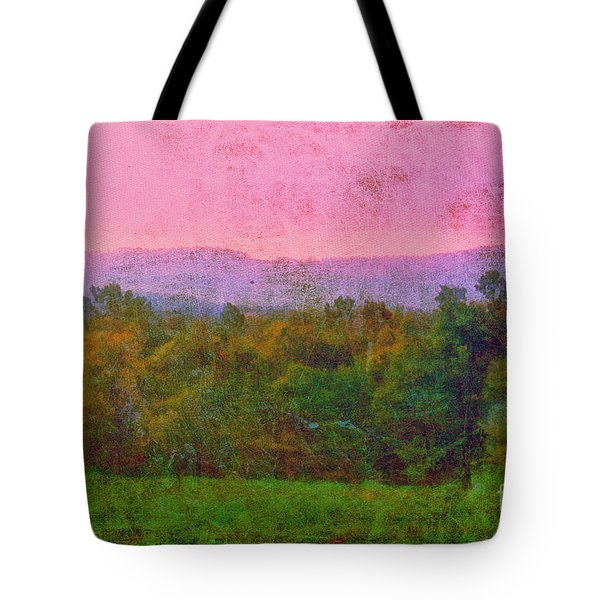 Morning In The Mountains Tote Bag by Judi Bagwell