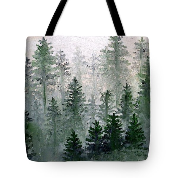 Morning In The Mountains Tote Bag by Shana Rowe Jackson