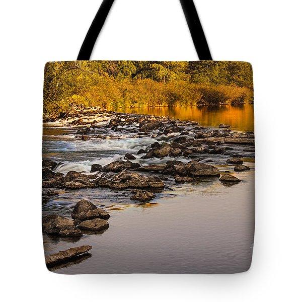 Morning Reflections Tote Bag by Robert Bales