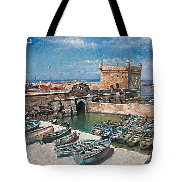 Morocco Tote Bag by Ylli Haruni