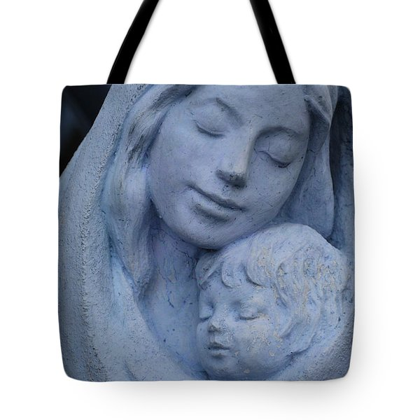 Mother And Child Tote Bag by Susanne Van Hulst
