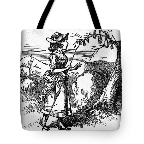 Mother Goose: Bo-peep Tote Bag by Granger