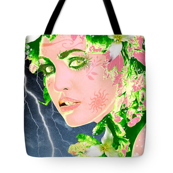 Mother Nature Tote Bag by Methune Hively