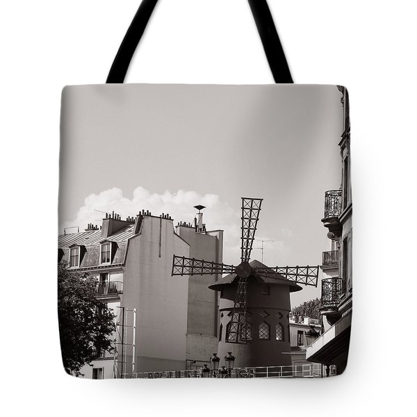 Moulin Rouge Tote Bag by Andrew Fare
