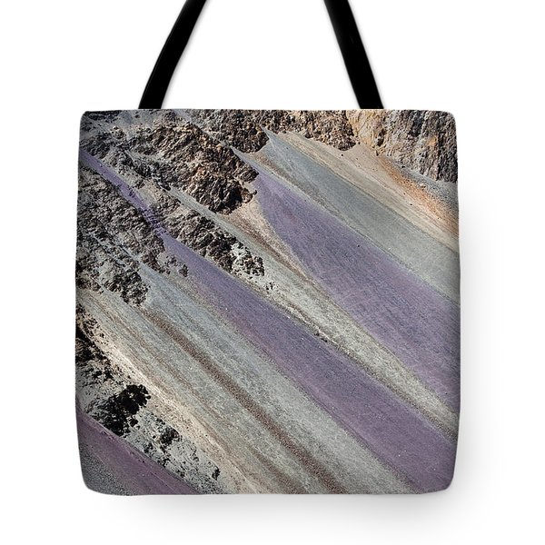 Mountain Abstract 5 Tote Bag by Hitendra SINKAR