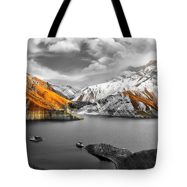 Mountains In The Valley 2 Tote Bag by Sumit Mehndiratta