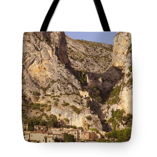 Moustier-Sainte-Marie Tote Bag by Brian Jannsen