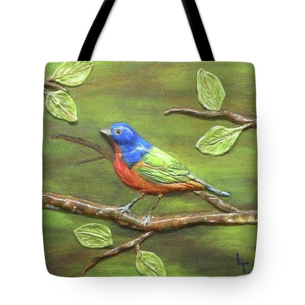 Mr. Bundting Tote Bag by Lorrie T Dunks