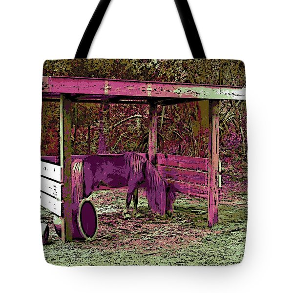 Mr. Nibble's New Home Tote Bag by George Pedro