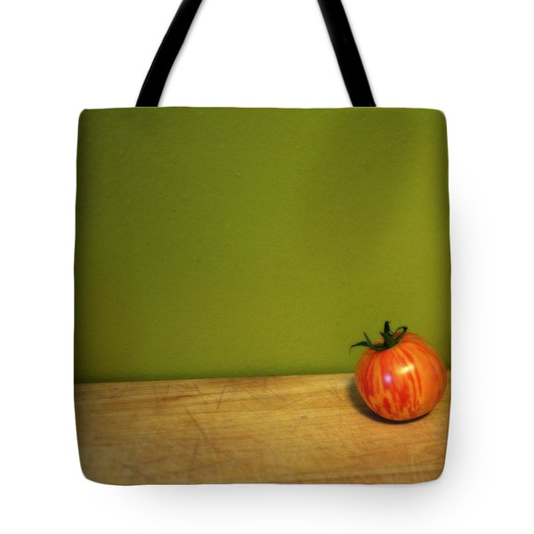 Mr. Stripey Tote Bag by Michelle Calkins