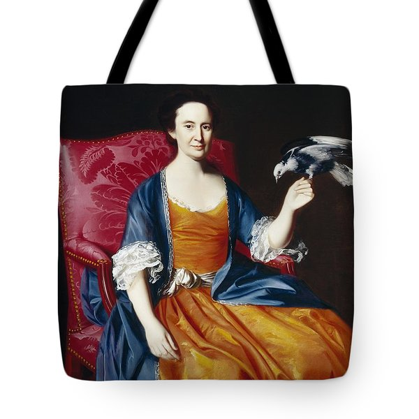 Mrs. Benjamin Hallowell Tote Bag by John Singleton Copley