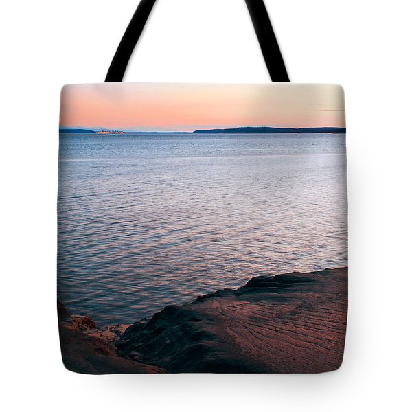 Mud Blushing Tote Bag by Ron Day