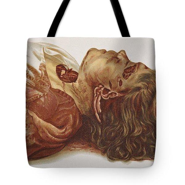 Murder Victim 1898 Tote Bag by Science Source