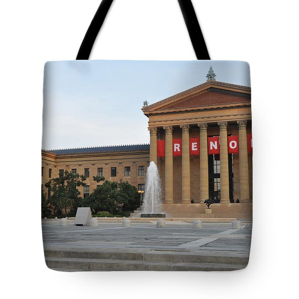 Museum Of Art - Philadelphia Tote Bag by Bill Cannon