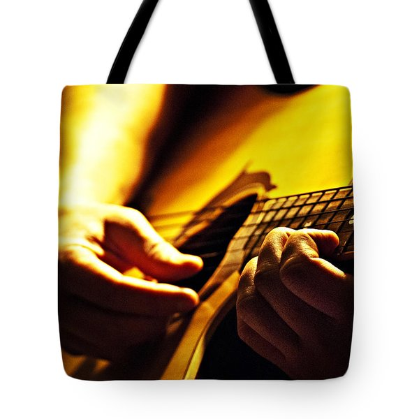Music Is Passion Tote Bag by Christopher Gaston
