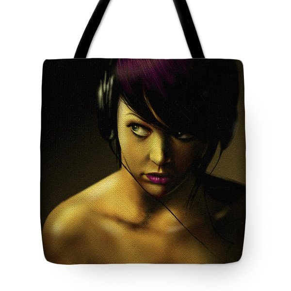 Music Tote Bag by Pete Tapang