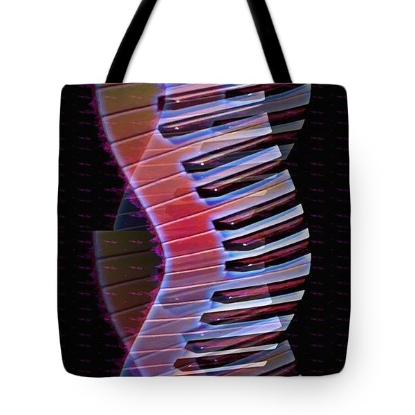 Musical Dna Tote Bag by Bill Cannon