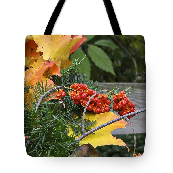 My Bittersweet Fall Tote Bag by Mary Machare