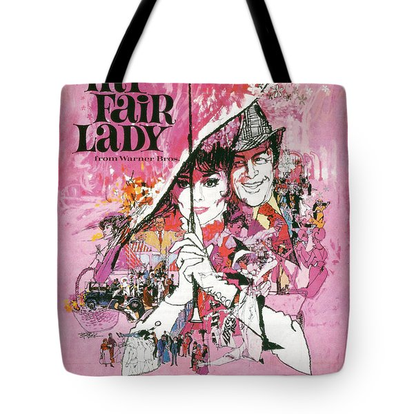 My Fair Lady Tote Bag by Nomad Art And  Design